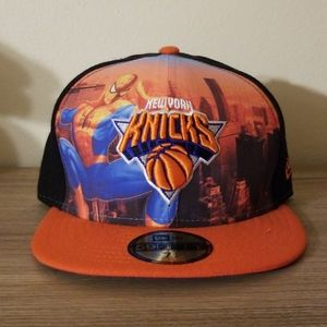 Marvel Spiderman x NY Knicks New Era hat